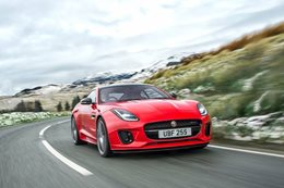 Jaguar F Type four cylinder revealed main