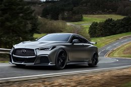 2017 Infiniti Q60 Project Black S Concept driving