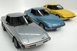 Mazda RX7 auction trio