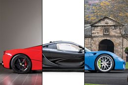 Hypercar Holy trinity auction