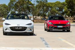 2016 Mazda MX 5 vs Fiat Abarth 124 Spider
