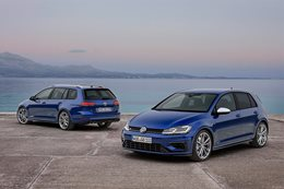 2017 Golf R and Golf R Wagon