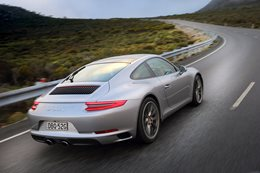 2017 Porsche 911 Carrara S back