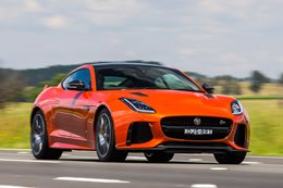 2017 Jaguar F Type SVR review
