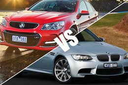 2017 Commodore SS V Redline vs 2008 BMW M3
