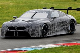 BMW M8 GTE unveiled
