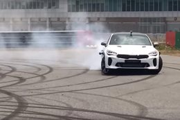 kia Stinger GT burnout main