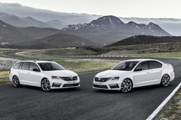2018 Skoda Octavia RS updates