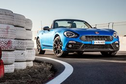 2017 Abarth 124 Spider front