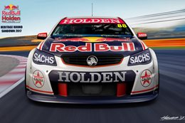 2017 Holden RedBull Sandown heritage edition