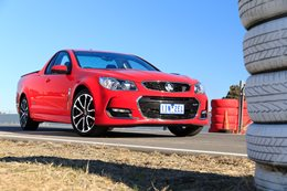 2017 Holden Commodore SS Ute front