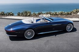 Mercedes Maybach 6 Cabriolet rear