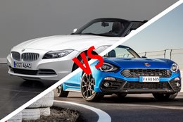 2017 Abarth 124 Spider vs 2012 BMW Z4 20i