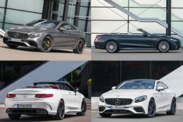 Mercedes AMG S63 and AMG S65 updated