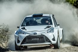 Toyota Yaris AP4 rally car