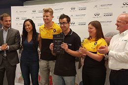 Young Aussie wins Infiniti Engineering Academy position