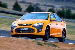 2008 FPV F6 front