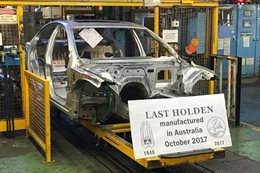 Last Australian Holden commodore