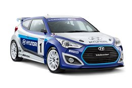 Hyundai Veloster Race Concept front