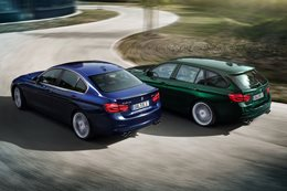 BMW Alpina B3 sedan & wagon rear