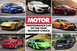 MOTOR'S Performance Car of the Year nw