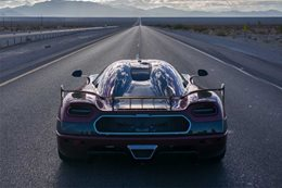 Agera RS speed record 1