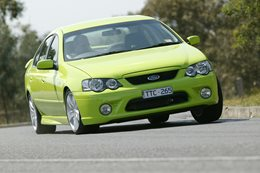 BF Ford XR6 Turbo Auto