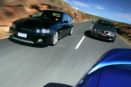 FPV Falcon GT P vs MG ZT260 nw