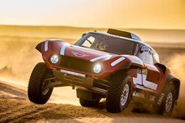 Mini John Cooper Works Dakar buggy