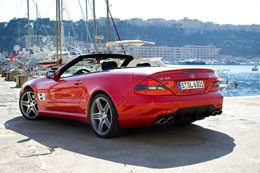 2008 Mercedes Benz SL63 AMG first drive review Classic MOTOR