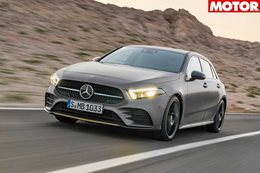 Mercedes AMG A35 electric turbo hatch to debut