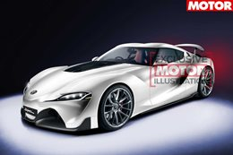 Toyota Geneva preview of the Supra