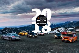 2018 MOTOR PCOTY Introduction