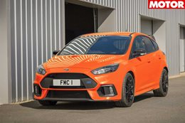 2018 ford focus RS Heritage Edition marks end
