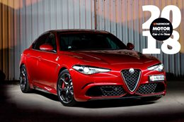 Alfa Romeo Giulia QV Performance Car of the Year 2018 8th place feature