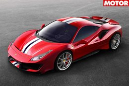 2018 Ferrari 488 Pista officially