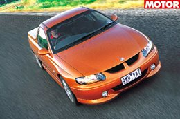 2000 Holden Commodore VU SS ute classic motor feature