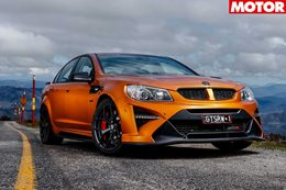 HSV GTSR W1 Performance Car of the Year 2018