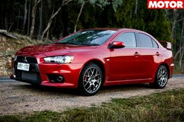 2008 Mitsubishi Lancer Evolution X classic MOTOR feature review
