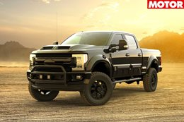 Ford F 250 Tuscany Black Ops announced for Australia NEWS