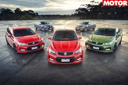 Holden Commodore V8 stock marked up in dealers news