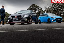 2018 Ford Focus RS LE long term review Part 3 vs honda civic type r