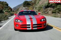 2006 Dodge Viper SRT10 Coupe review classic MOTOR main