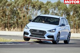 Hyundai i30 N covered with track warranty news