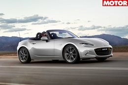 Mazda MX5 receives updated features