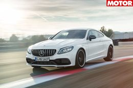 Mercedes AMG C63 updated