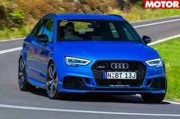 2018 Audi RS3 Sportback review