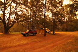 Bush camping in Araluen Nature Reserve