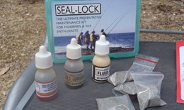 Seal-lock emergency repair kit