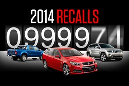 Australia car recalls record 2014